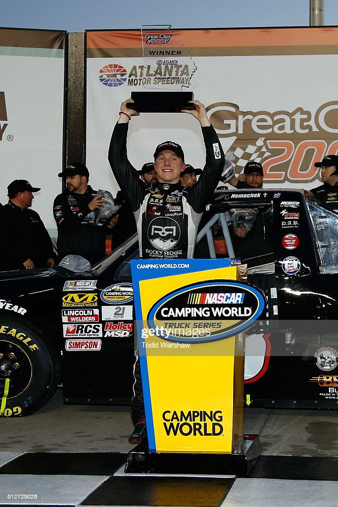 driver of the 8 farbe technik chevrolet celebrates in victory lane. Cars Review. Best American Auto & Cars Review