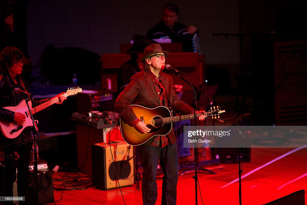 John Haitt performs during the Tribute to Cowboy Jack Clement at War Memorial Auditorium on January 30, 2013 in Nashville, Tennessee.