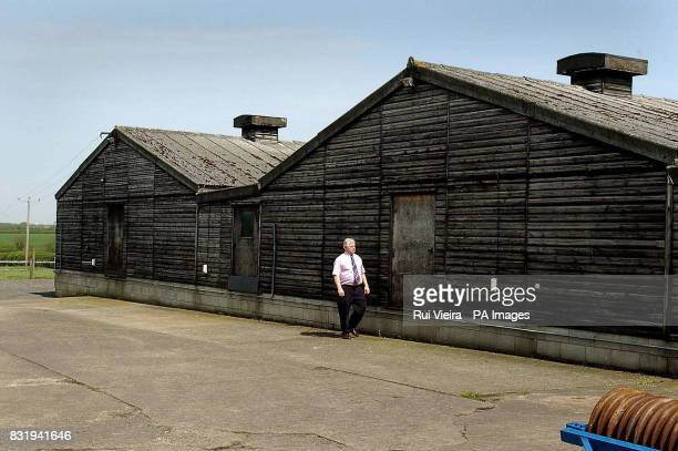 John Hall the brother of Chris Hall the soninlaw of Gladys Hammond stands by the empty buildings of his guinea pig business which he was forced to...