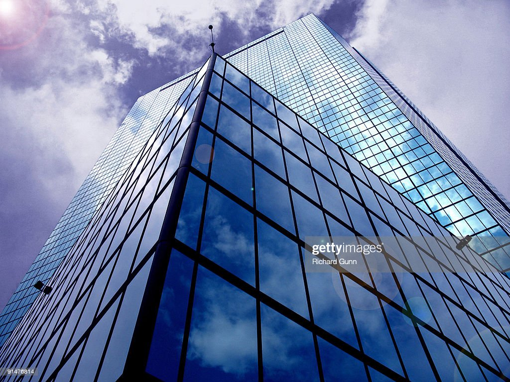 John Hancock Tower, Boston : Stock Photo