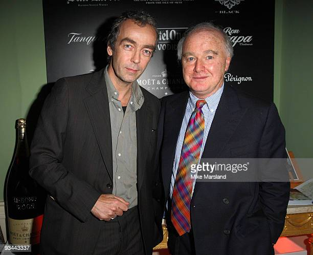 John Hannah and Douglas Ray attend the After party for the London Premiere of 'Nowhere Boy' hosted by Quintessentially at The House of St Barnabas on...