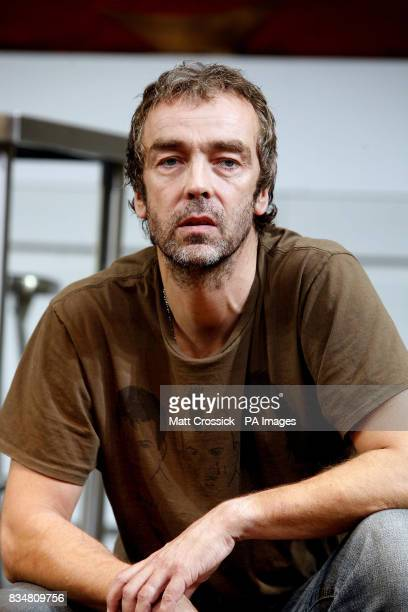 John Hannah appears on stage in 'Riflemind' by Andrew Upton during a photocall at the Trafalgar Studios in London's West End