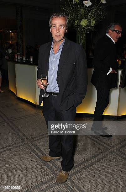 John Hannah attends a gala dinner celebrating the launch of Contini Art UK a new gallery opening on New Bond Street at Victoria and Albert Museum on...