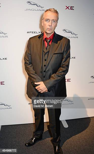 John Hannah attends as a guest of Jaguar at the global reveal of the new XE in London at Earls Court on September 8 2014 in London England