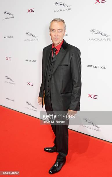 John Hannah attends as guests of Jaguar at the global reveal of the new XE in London at Earls Court on September 8 2014 in London England