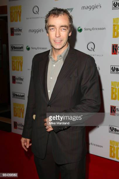 John Hannah attends the London Premiere hosted by Quintessentially of 'Nowhere Boy' at BAFTA on November 26 2009 in London England