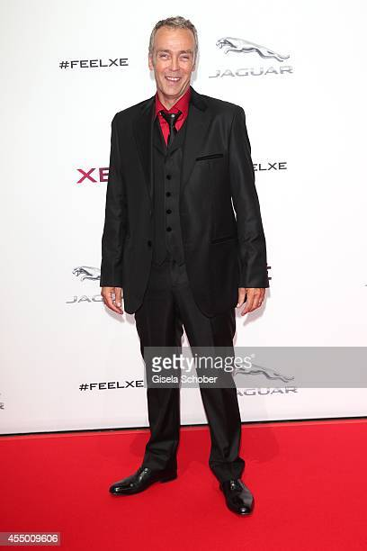 John Hannah attends the new Jaguar XE World Premiere at Earls Court on September 8 2014 in London England