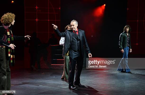 John Hannah performs at the global reveal of the new Jaguar XE in London at Earls Court on September 8 2014 in London England