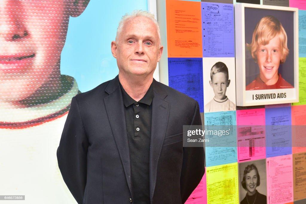 John Hanning attends Spring Break Art Fair 2017 Vernissage at 4 Times Square on February 28, 2017 in New York City.