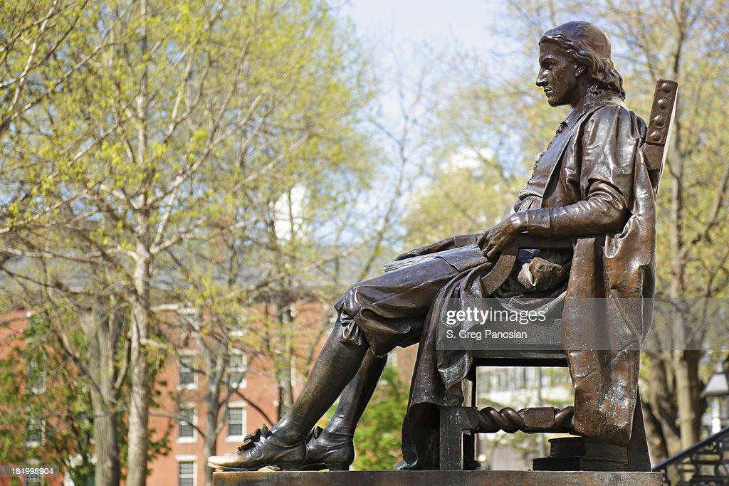 John Harvard Monument