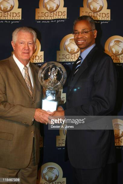 John Havlicek and Len Elmore during NBA Retired Players Association Annual AllStar Weekend and Bruncheon February 18 2007 at Mandalay Bay Hotel and...