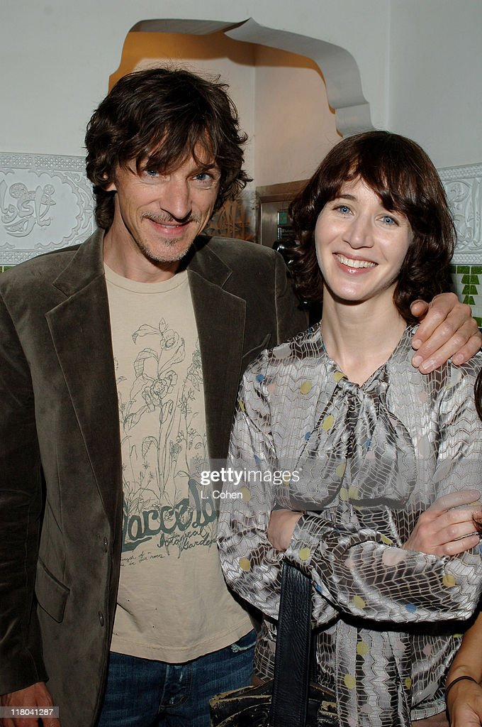 John Hawkes and Miranda July during 2005 Los Angeles Film Festival 'Me and You and Everyone We Know' After Party at Dat Maghreb in Los Angeles...