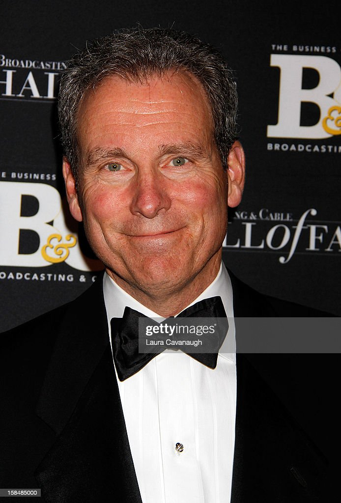 John Hayes attends the 2012 Broadcasting & Cable Hall of Fame Awards at The Waldorf=Astoria on December 17, 2012 in New York City.
