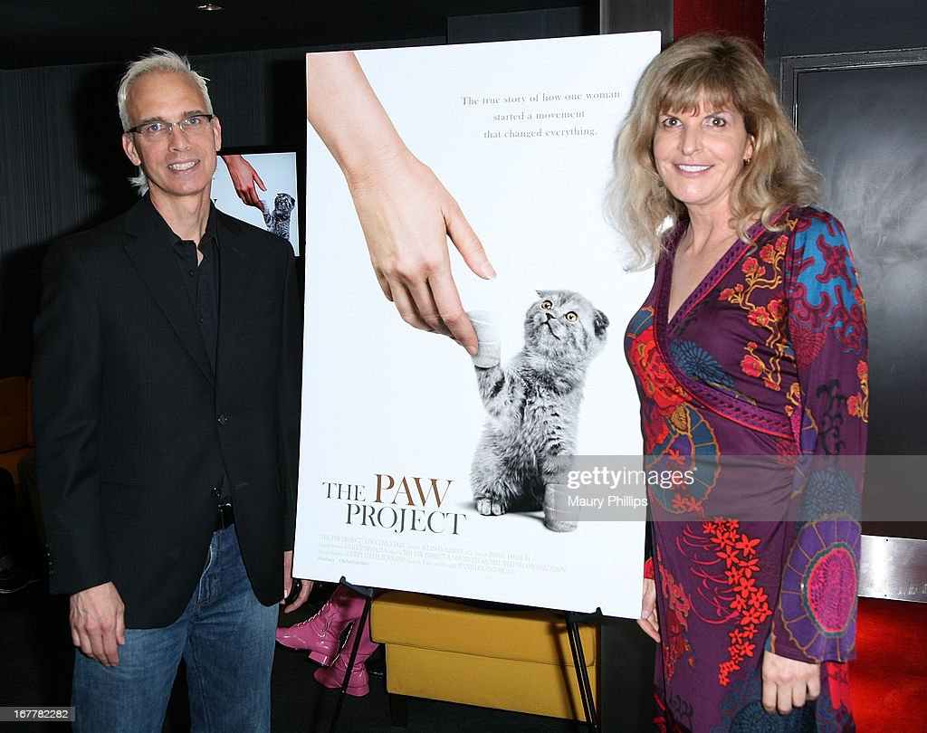 John Heilman and Jennifer Conrad attend The Paw Project Premiere on April 29, 2013 in West Hollywood, California.