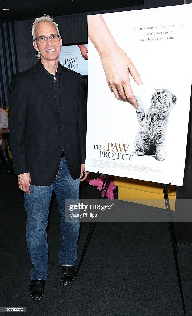 John Heilman attends The Paw Project Premiere on April 29, 2013 in West Hollywood, California.