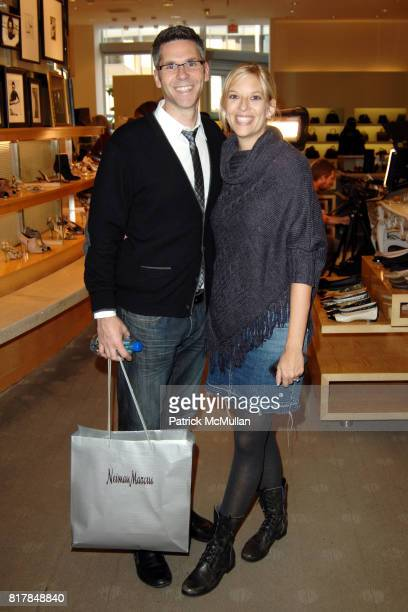 John Henson and attend Manolo Blahnik In Person at Neiman Marcus at Neiman Marcus on October 7 2010 in Beverly Hills California