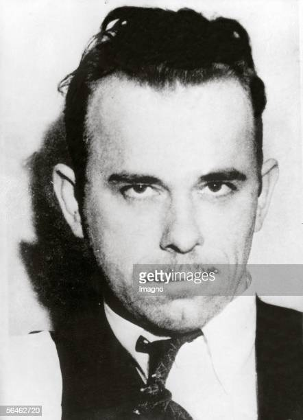 John Herbert Dillinger american gangster and bankrobber He was the first criminal which was called public enemy no one by the FBI Photography Around...
