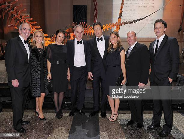John Hess his wife Susan Hess musician Patty Smyth her husband and former professional tennis player John McEnroe comedian Jimmy Fallon Caryn Zucker...