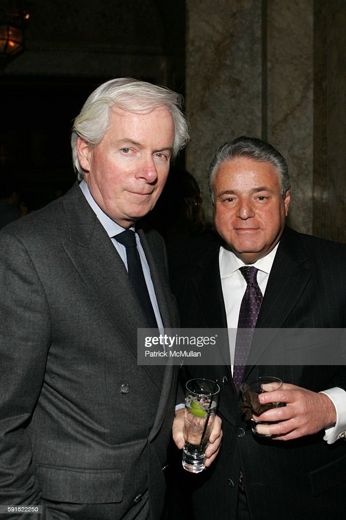 John Hillock and Peter Warren attend The Opening of 'Gilt' a New Restaurant and Bar at Gilt on December 14 2005 in New York City