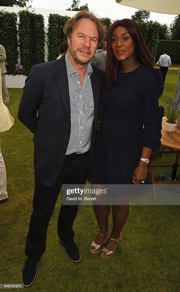<a gi-track='captionPersonalityLinkClicked' href=/galleries/search?phrase=John+Hitchcox&family=editorial&specificpeople=556131 ng-click='$event.stopPropagation()'>John Hitchcox</a> and Phoebe Hitchcox attend The Cartier Style et Luxe at the Goodwood Festival of Speed at Goodwood on June 26, 2016 in Chichester, England.