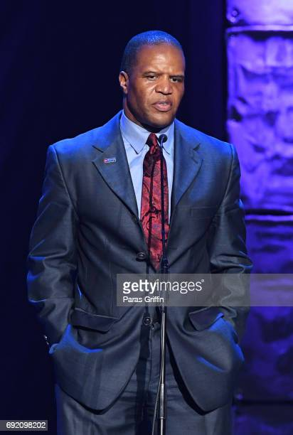 John Hope Bryant speaks onstage at 2017 Andrew Young International Leadership Awards and 85th Birthday Tribute at Philips Arena on June 3 2017 in...