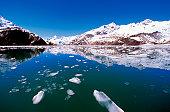 John Hopkins Glacier in Glacier Bay, Alaska, USA