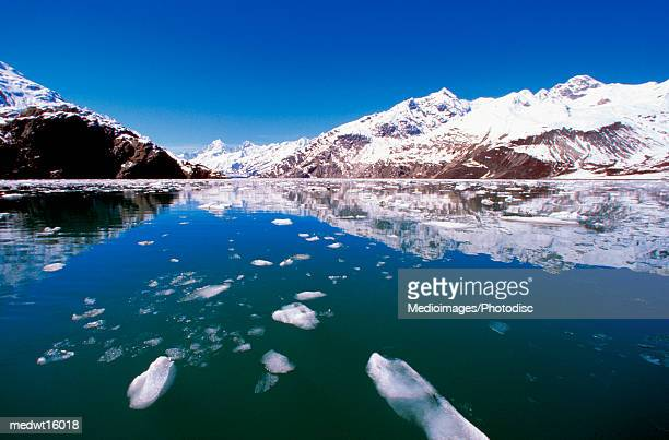 John Hopkins Glacier in Glacier Bay, Alaska, USA