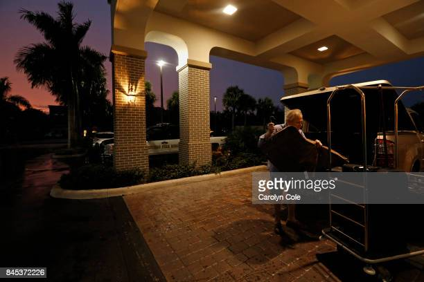 John Hughes of Ft Myers age 64 had to evacuate the first hotel he was booked into and move to the Hampton Inn He checked in late on Saturday In...