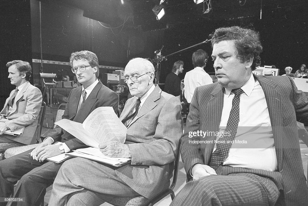 John Hume MP and other on the Late Late Show
