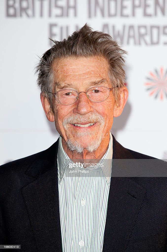 <a gi-track='captionPersonalityLinkClicked' href=/galleries/search?phrase=John+Hurt&family=editorial&specificpeople=210790 ng-click='$event.stopPropagation()'>John Hurt</a> attends the British Independent Film Awards at Old Billingsgate Market on December 9, 2012 in London, England.