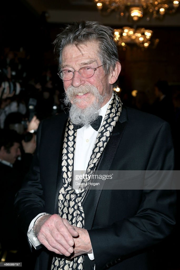 <a gi-track='captionPersonalityLinkClicked' href=/galleries/search?phrase=John+Hurt&family=editorial&specificpeople=210790 ng-click='$event.stopPropagation()'>John Hurt</a> attends the London Critics' Circle Film Awards at The Mayfair Hotel on February 2, 2014 in London, England.