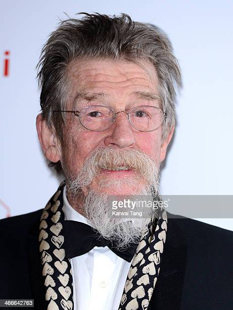 John Hurt attends the London Critics' Circle Film Awards at The Mayfair Hotel on February 2 2014 in London England