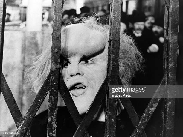 John Hurt in the David Lynch film 'The Elephant Man' circa 1980