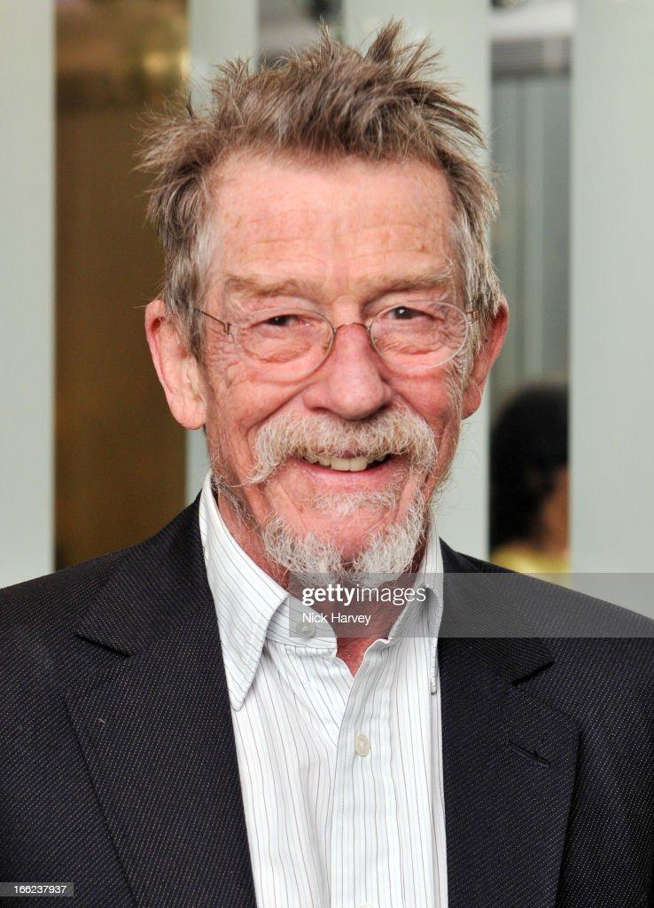John Hurt Is Awarded The Liberatum Cultural Honour