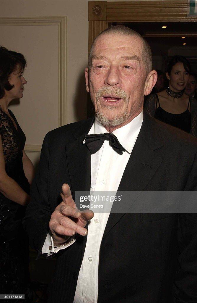 John Hurt, The Evening Standard Film Awards, At The Savoy Hotel In London