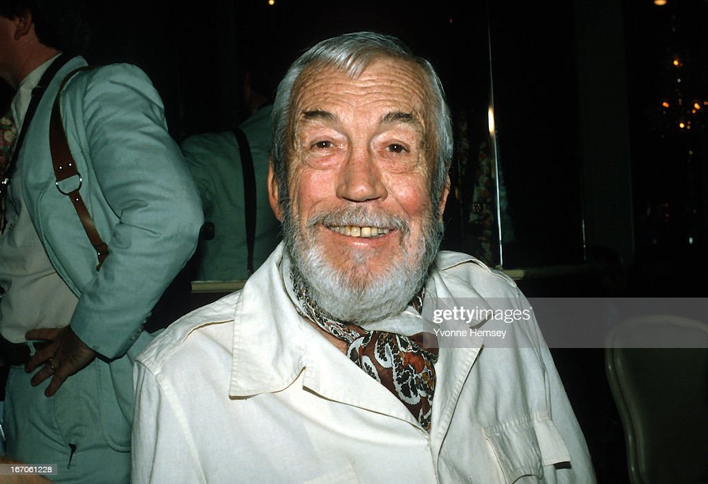 John Huston is photographed August 1, 1980 in New York City.