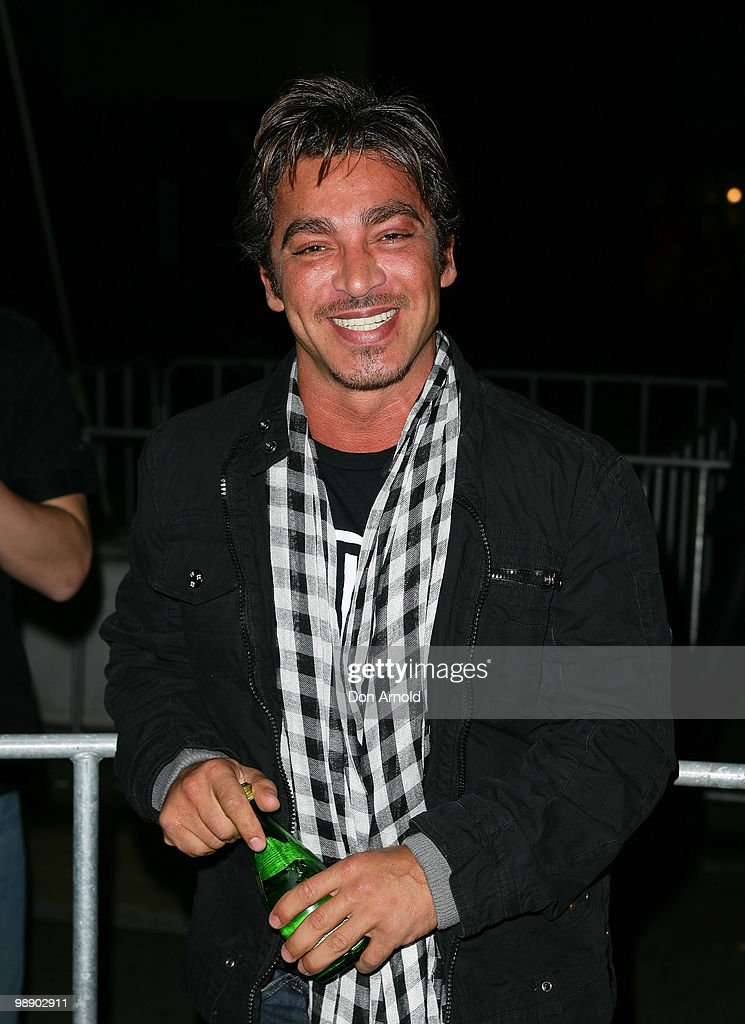 John Ibrahim attends the front row of the Ksubi collection show on the fourth day of Rosemount Australian Fashion Week Spring/Summer 2010/11 offsite...