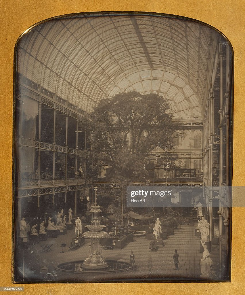 John Jabez Edwin Mayall The Crystal Palace at Hyde Park London daguerreotype 305 x 246 cm 12 x 9 11/16 in The J Paul Getty Museum Los Angeles