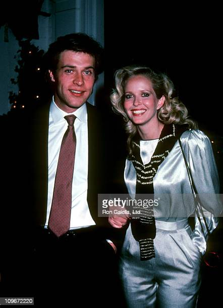 John James and Marsha Wolf during John James and Marsha Wolf Sighting at Chasen's Restaurant in Beverly Hills February 1 1983 at Chasen's Restaurant...