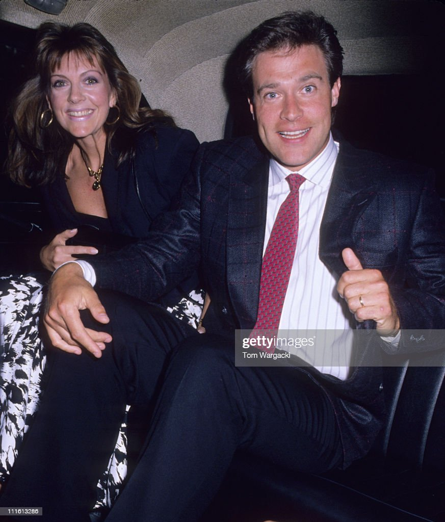John James and wife Denise during John James and wife Denise at Le Caprice Restaurant at Le Caprice in London, Great Britain.