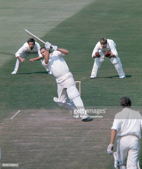 John Jameson batting for Warwickshire on the final day of the County Championship match between Warwickshire and Worcestershire at Edgbaston...