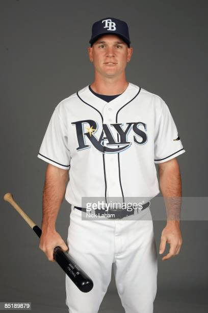 John Jaso of the Tampa Bay Rays poses during Photo Day on February 20 2009 at the Charlotte County Sports Park in Port Charlotte Florida