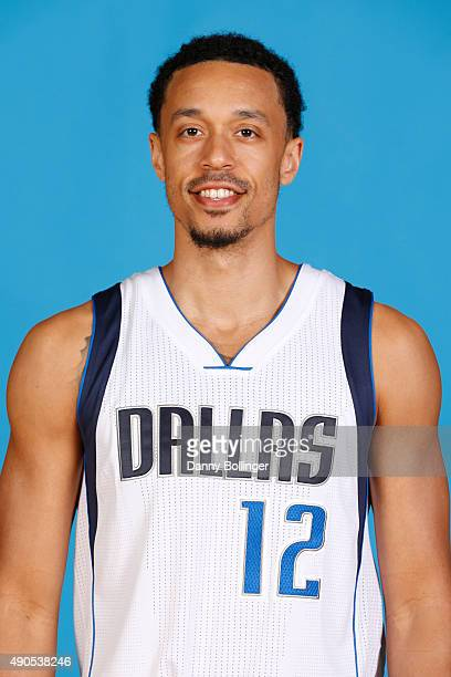 John Jenkins of the Dallas Mavericks poses for a head shot during Media Day on September 28 2015 at the American Airlines Center in Dallas Texas NOTE...