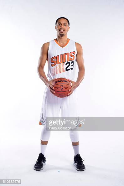 John Jenkins of the Phoenix Suns poses for a portrait at the 20162017 team media day on September 26 at Talking Stick Resort Arena in Phoenix Arizona...
