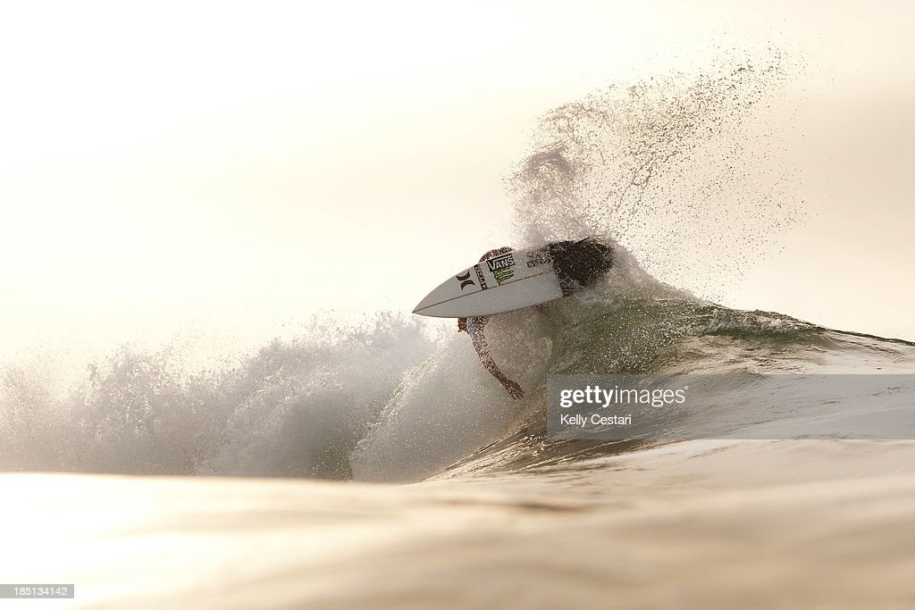 John John Florence of Hawaii placed equal 9th in the RipCurl Pro Portugal on October 17, 2013 in Peniche, Portugal.