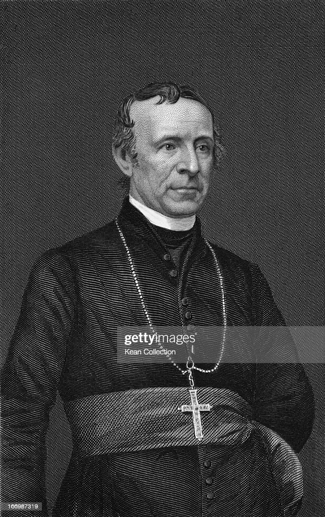 John Joseph Hughes Irishborn clergyman of the Roman Catholic Church fourth Bishop and first Archbishop of the Archdiocese of New York circa 1860...