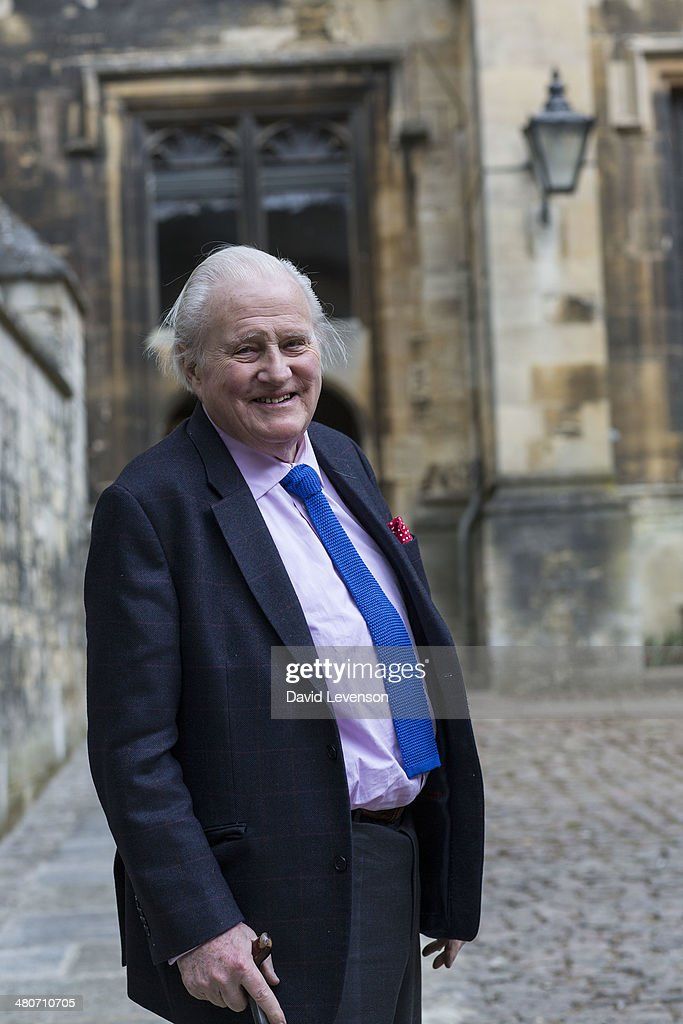 John Julius Norwich, historian and broadcaster, on Day 5 of the FT Weekend Oxford literary Festival on March 26, 2014 in Oxford, England.