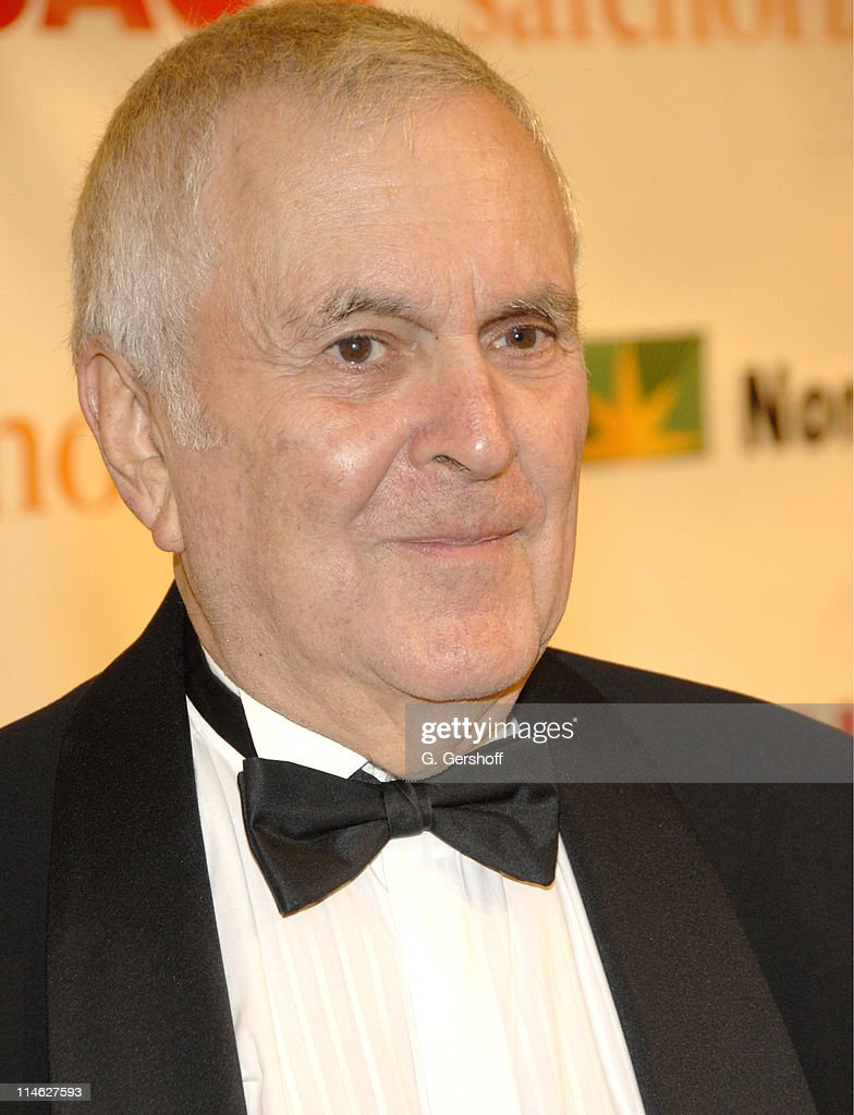John Kander during Chicago the Musical Celebrates its 10th Anniversary on Broadway - Arrivals at Ambassador Theater in New York City, New York, United States.