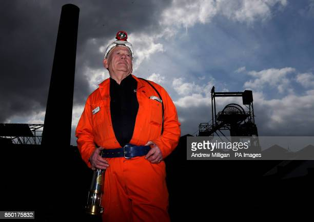 John Kane former miner and now guide at the National Mining Museum for Scotland at the Lady Victoria Colliery in Newtongrange stands at the old...