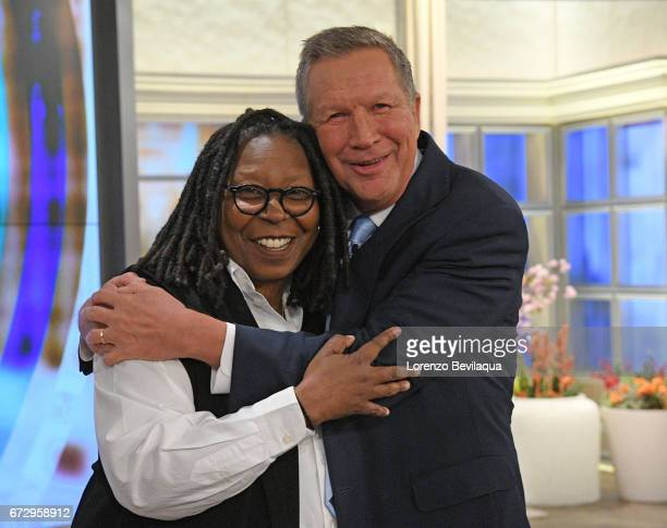 THE VIEW John Kasich and Kelly Osbourne are the guests Tuesday April 25 2017 on ABC's 'The View' 'The View' airs MondayFriday on the ABC Television...